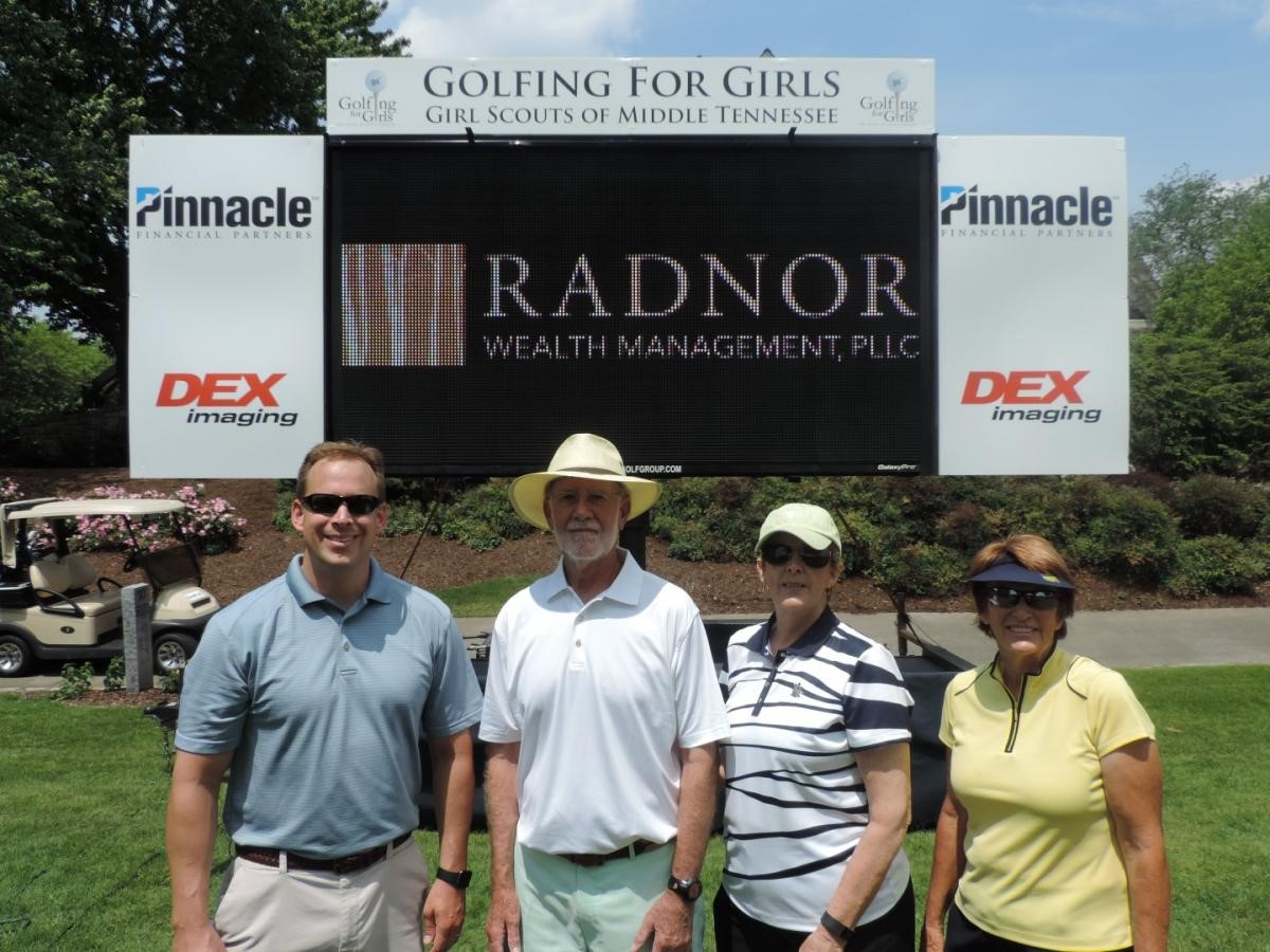 Golfing for Girl Scouts